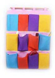 Органайзер настенный разноцветный 12 карманов 46235
