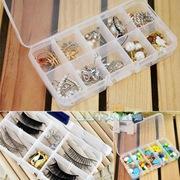 Органайзер коробочка для мелочей Для бисера,  мелочей,  украшений.