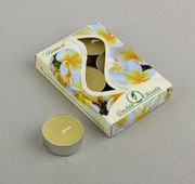 Свеча чайная в гильзе ароматизированная набор 6 штук 46447