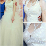 Свадебное платье новое размер 44-46